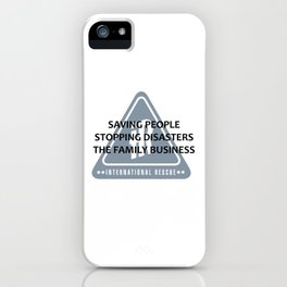 The Family Business iPhone Case