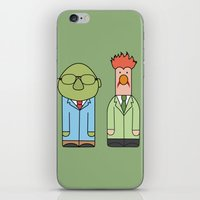 muppets iPhone & iPod Skins featuring Bunsen & Beaker – The Muppets by Big Purple Glasses