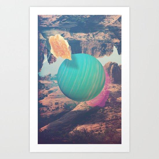 51 Pegasi b Art Print