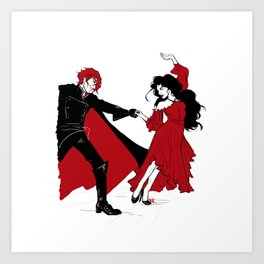 The Doctor Dances Art Print