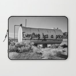 Everything Has a Price Laptop Sleeve