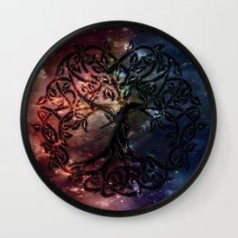 Viking Tree of life Wall Clock