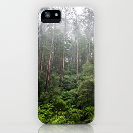 Forest and Fog iPhone Case