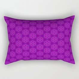 Ultraviolet Biscuits Pattern Rectangular Pillow