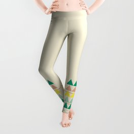 disguise forest    early summer Leggings