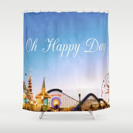 Oh Happy Day Shower Curtain