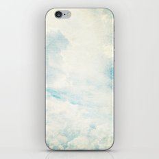 Somewhere | Beautiful Fluffy Clouds  iPhone & iPod Skin