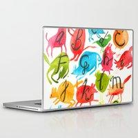 alphabet Laptop & iPad Skins featuring Alphabet by zuzia turek
