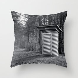 The Rest House Throw Pillow