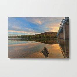 Point of Rocks Sunset Metal Print