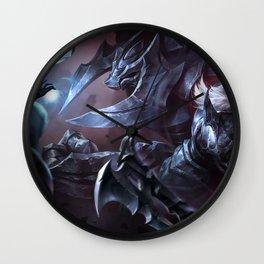 Marauder Olaf Alistar Splash Art Wallpaper Background Official Art Artwork League of Legends Wall Clock