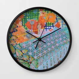 Bus Stop Wall Clock