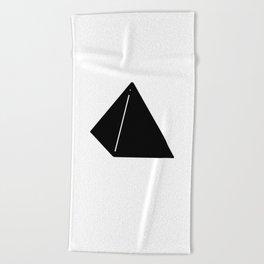 Shapes Pyramid Beach Towel