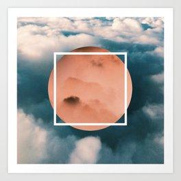 Geometric Sky  Art Print