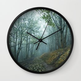First touch of Autumn Wall Clock