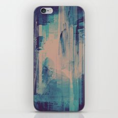 slow glitch iPhone & iPod Skin