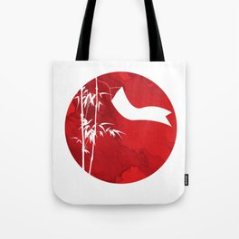 New Year Tree Bamboo Pole Vietnam Neu Tote Bag