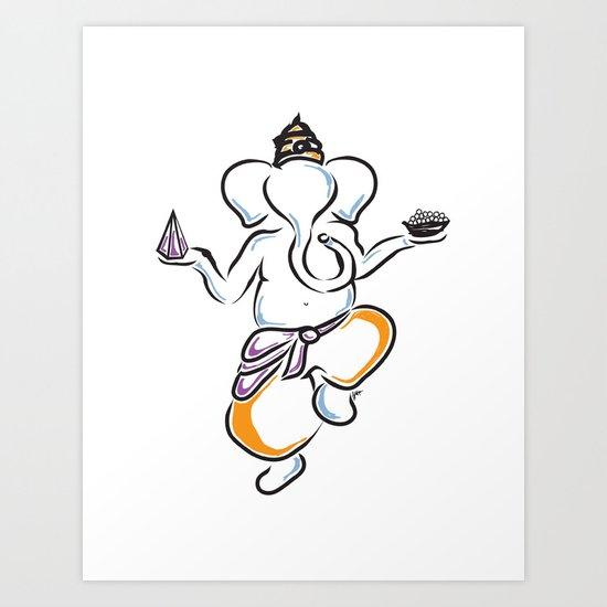 Servant of Ganesh 1 Art Print