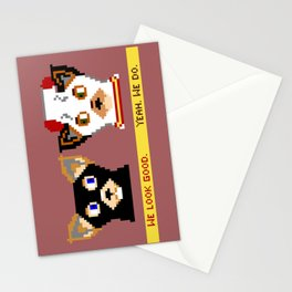 I Modified This Tube Sock Stationery Cards
