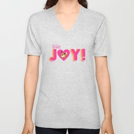 Fan JOY: pokeee-vee Unisex V-Neck