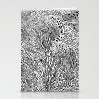 milky way Stationery Cards featuring Milky Way by Hendry Lim