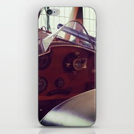 Vitnage plane cockput iPhone Skin