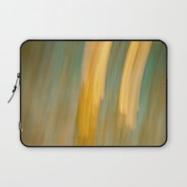 Ancient Gold and Turquoise Texture Laptop Sleeve