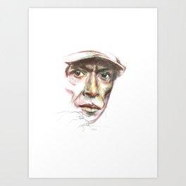Miles... Art Print