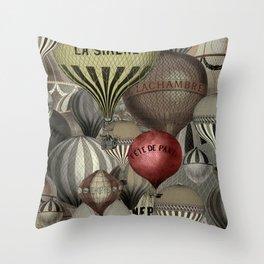 Les Balons I Throw Pillow