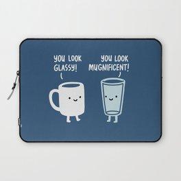 Mug and Glass Laptop Sleeve