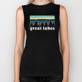 Great Lakes Shirt Biker Tank