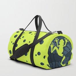 Tropical Frog Papercut Design Duffle Bag