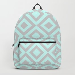 Green and Grey Tile Backpack