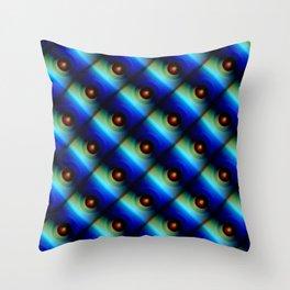 Pattern small balls Throw Pillow