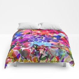 Jelly Bean Wildflowers Comforters