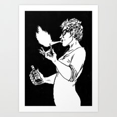 Flamespitter Art Print