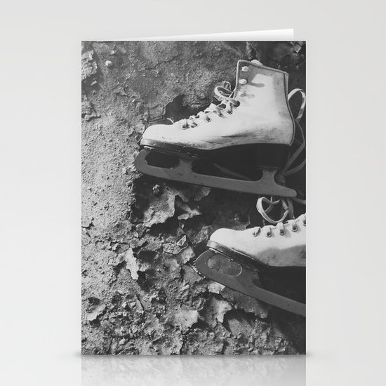 Forgotten Skates Stationery Cards