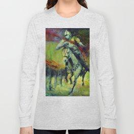 Caballero del tiempo Long Sleeve T-shirt