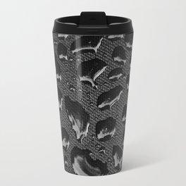 creative water droplets  Metal Travel Mug