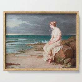 Miranda, John William Waterhouse Serving Tray