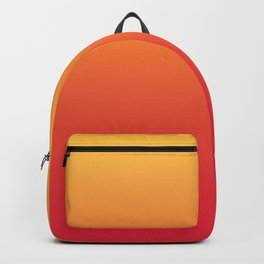 Summer Pattern Ombre Yellow Orange Red Gradient Texture Backpack