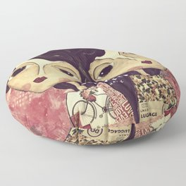 Coco's Closet Your Heart and My Heart Floor Pillow