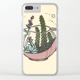 Coffee Succs Clear iPhone Case