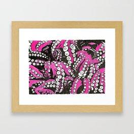 Octopi tentacles Framed Art Print