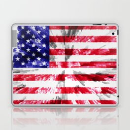 American Flag Extrude Laptop & iPad Skin