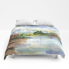 Tranquility2 Comforters