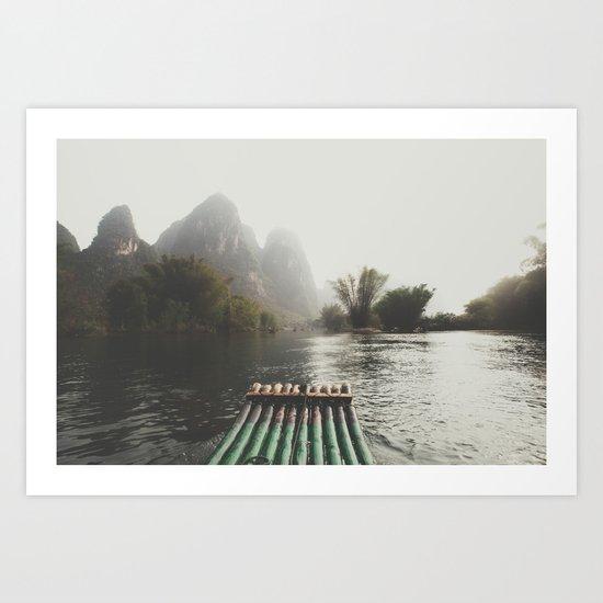 China III Art Print