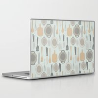 kitchen Laptop & iPad Skins featuring kitchen by La Señora
