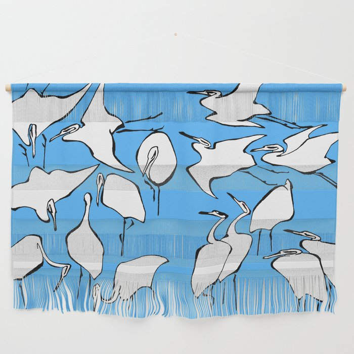 """Wall Hanging Lesson Plan: Katsushika Hokusai """"Cranes From Quick Lessons In"""