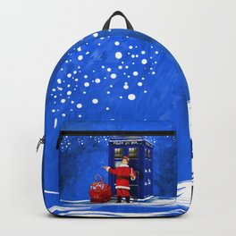 10th Doctor who Santa claus Backpack